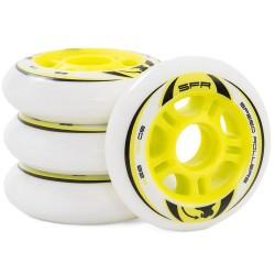 SFR Inline Skate Wheels 4-Pack